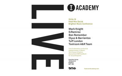 Toolroom Academy Live returns to BMC